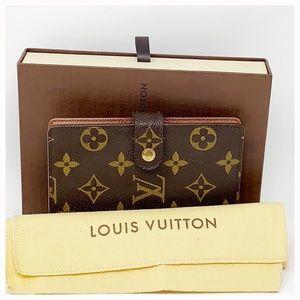 Authentic Louis Vuitton Monogram Agenda Wallet